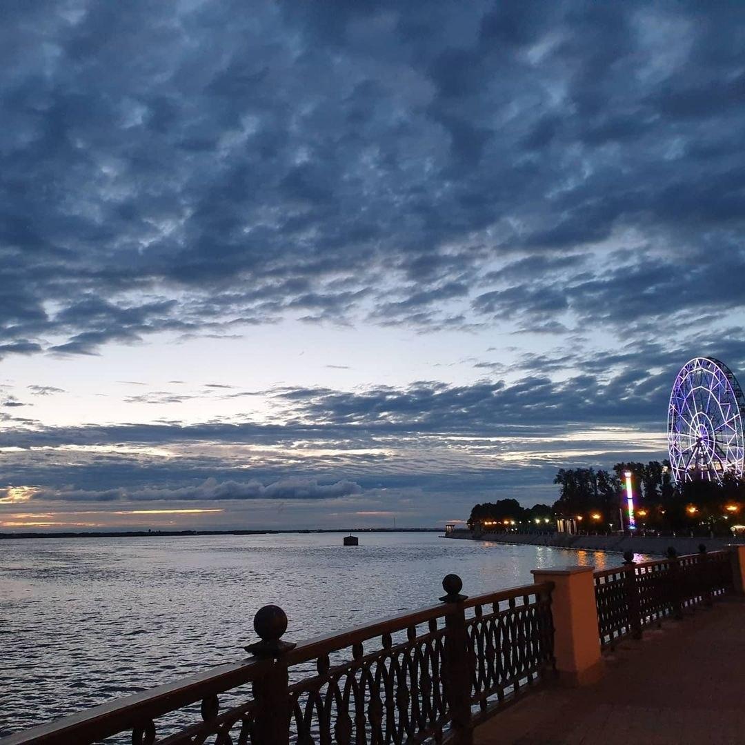 На набережной Хабаровска продлят время освещения
