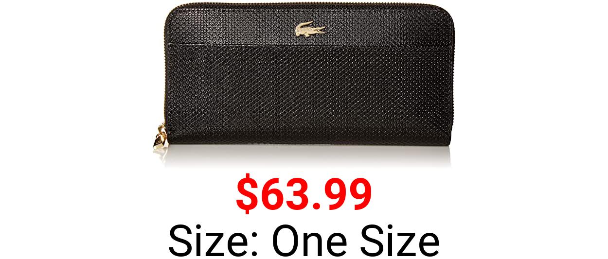 Lacoste Women CHANTACO Large Zip Wallet