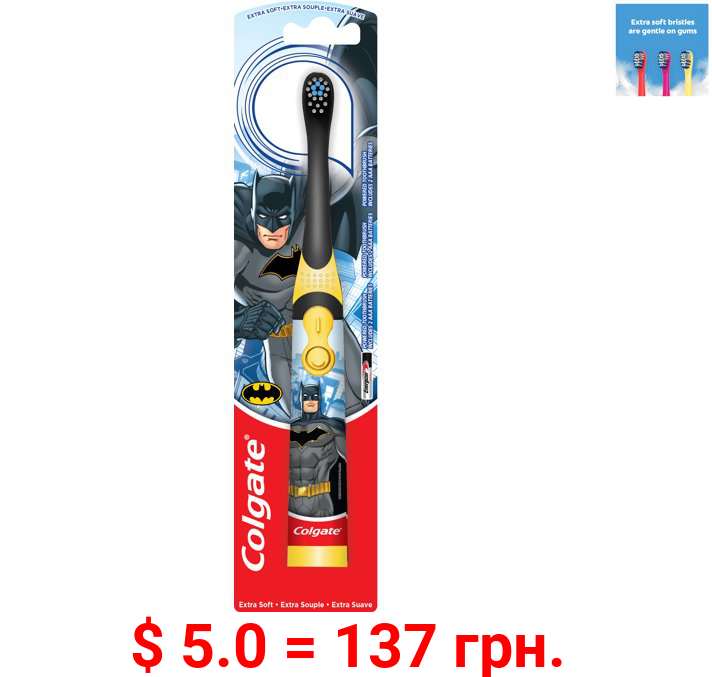 Colgate Kids Battery Powered Toothbrush, Batman