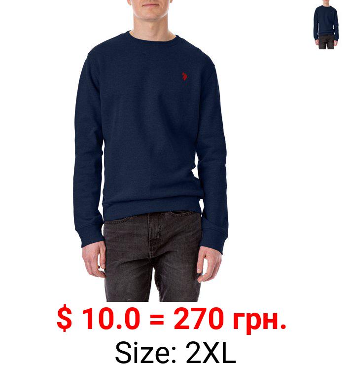 U.S. Polo Assn. Men's Fleece Crew Neck Sweatshirt