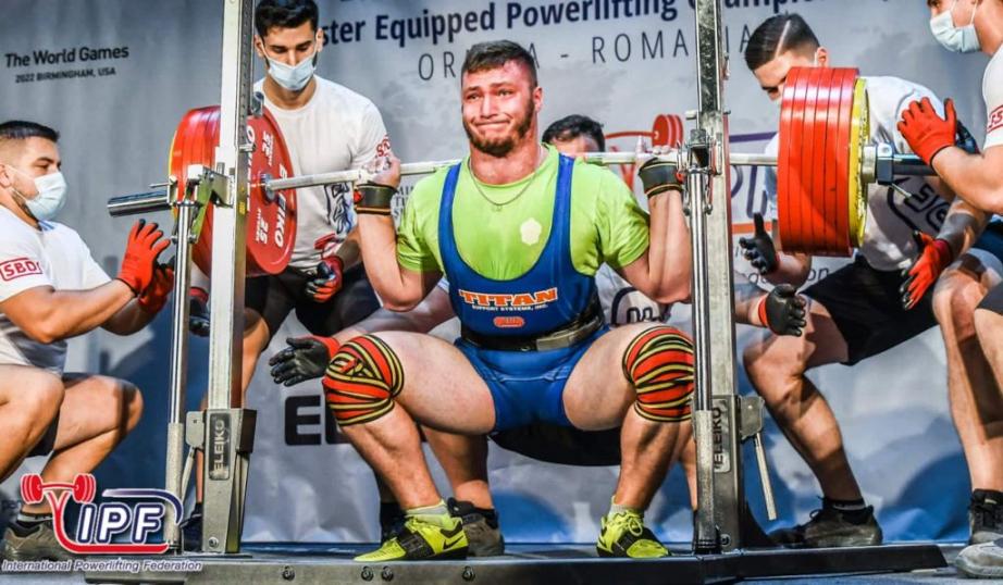 Хабаровчанин выиграл Первенство мира по пауэрлифтингу