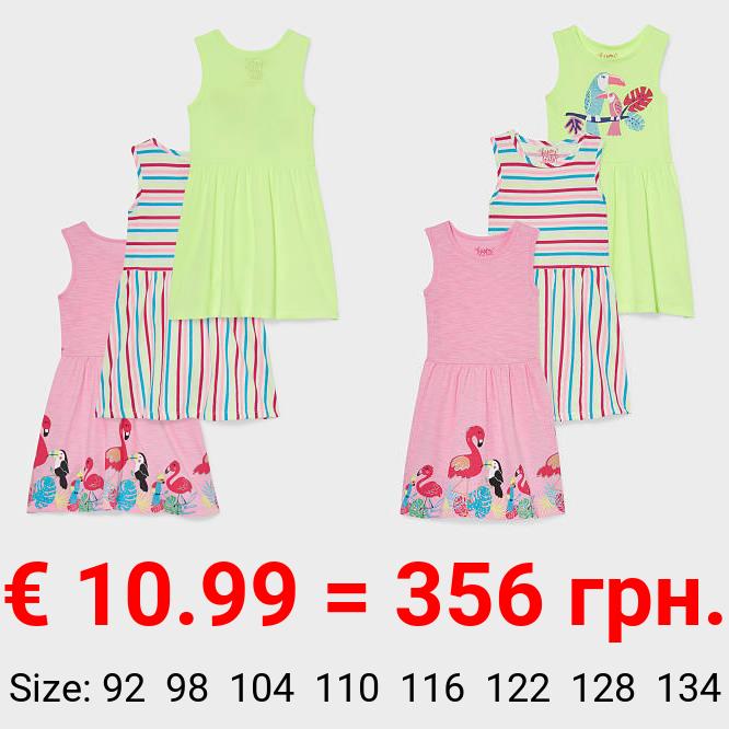 Multipack 3er - Kleid