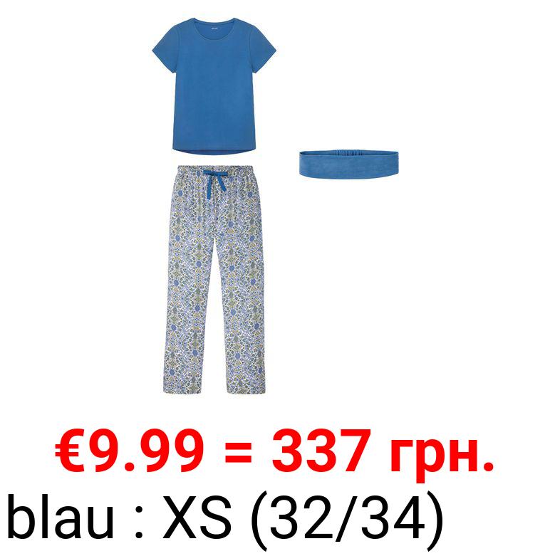 ESMARA® Damen Pyjama