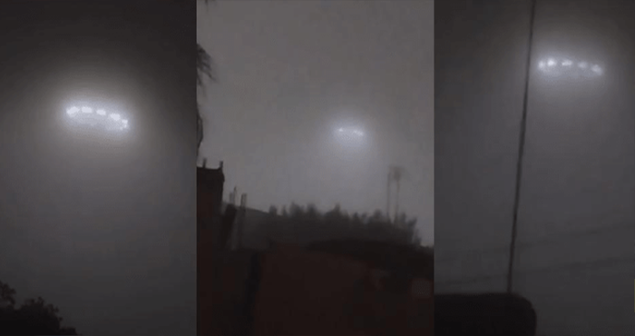 HE RECORDED AN IMPRESSIVE UFO SIGHTING DURING A LIVE BROADCAST IN MEXICO
