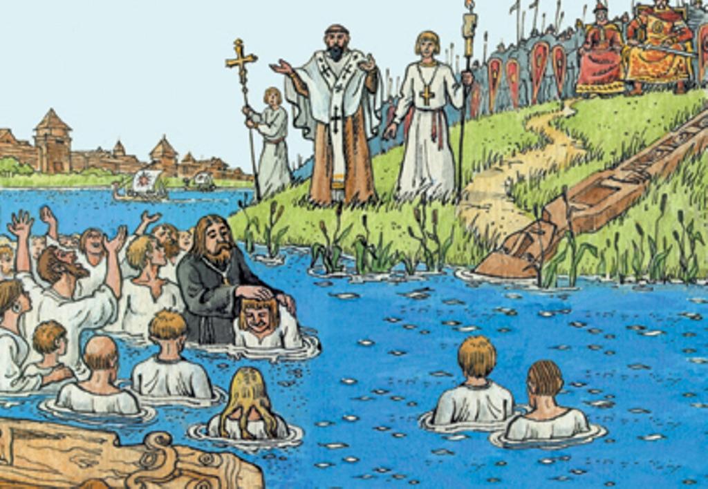 крещение руси картинка карандашом необходима, чтобы осветить