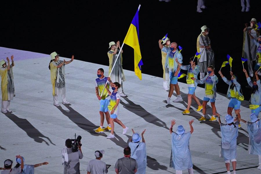 В России не показали на ТВ выход украинской сборной на Олимпиаде в Токио