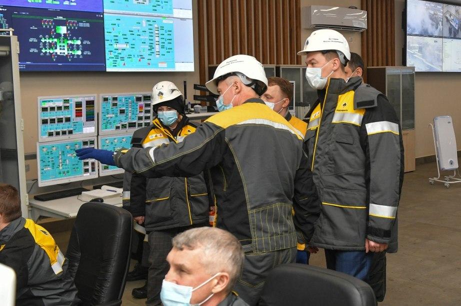 Перспективы развития Комсомольского НПЗ обсудили в «Роснефти»
