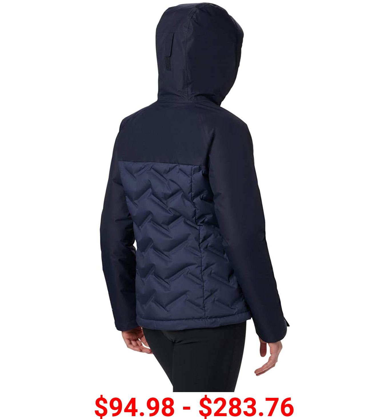 Columbia Women's Grand Trek Down Jacket, Waterproof & Breathable