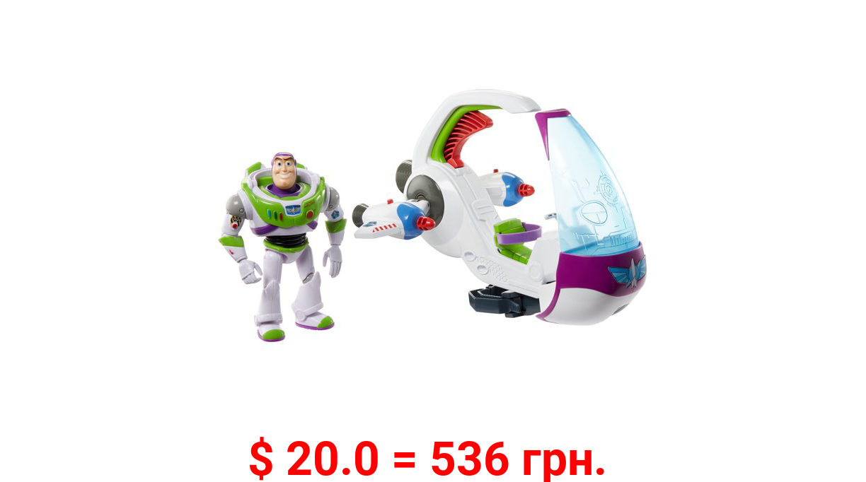 Disney Pixar Toy Story Galaxy Explorer Spacecraft Transforming Vehicle & Figure