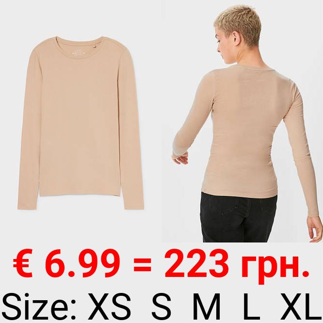 CLOCKHOUSE - Langarmshirt - Bio-Baumwolle