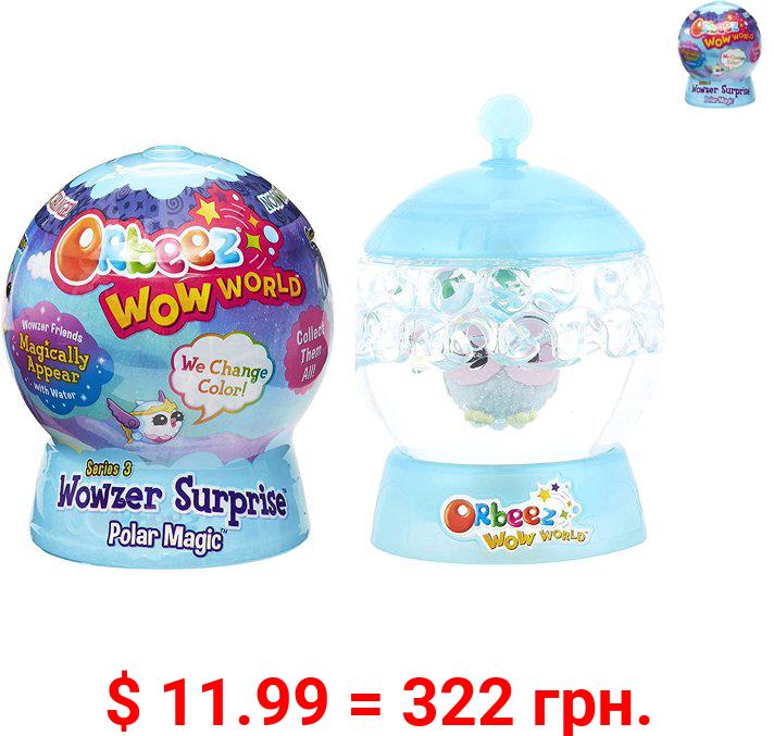 Orbeez Wow World Wowzer Orbeez Squishy, Polar Magic Surprise Magical Pets 2-Pack Bundle (Series 3)