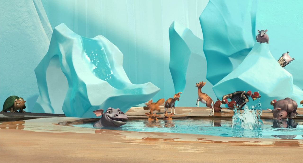 Screenshot of Ice Age: The Meltdown