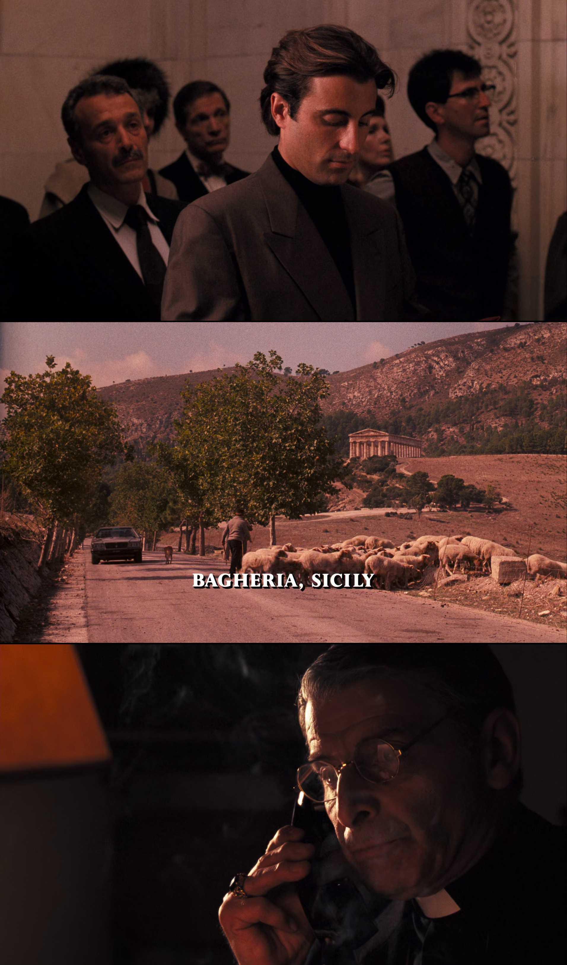 Screenshot of The Godfather: Part III Movie