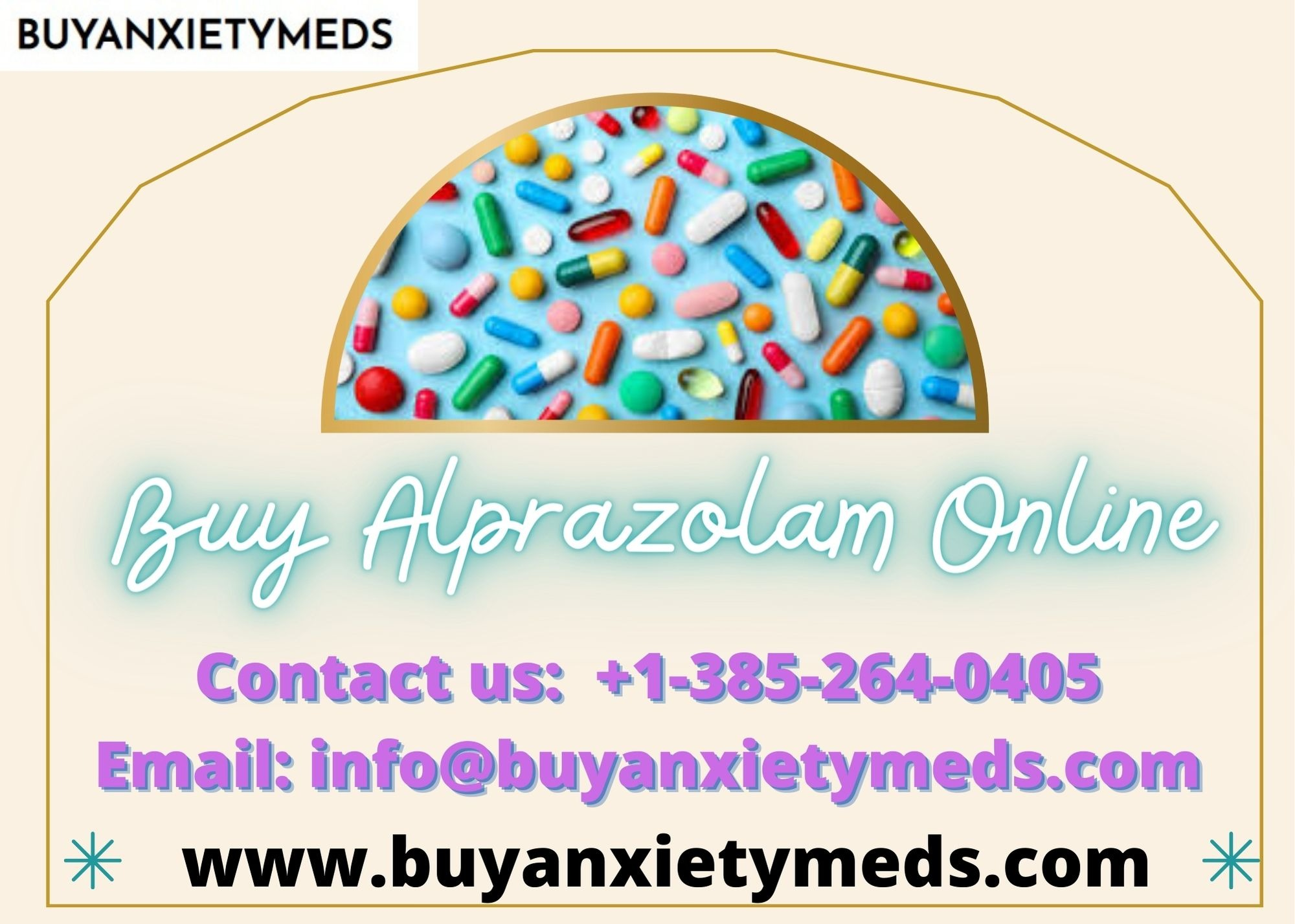 Buy Alprazolam Online: Perfect Solution For Anxiety