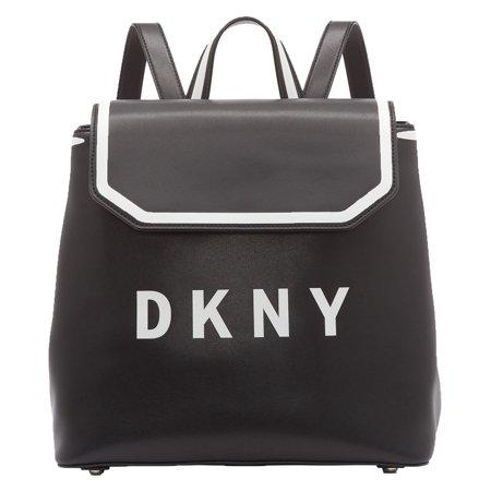 DKNY Jade Flap Backpack (Black)