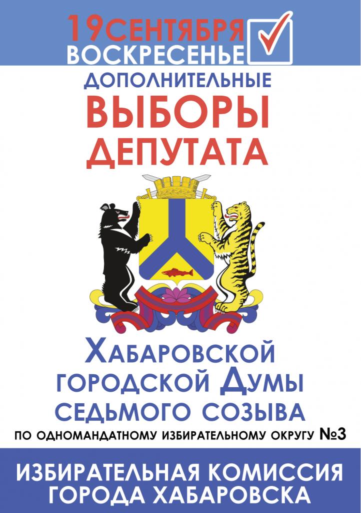 Выборы в Хабаровске 2021