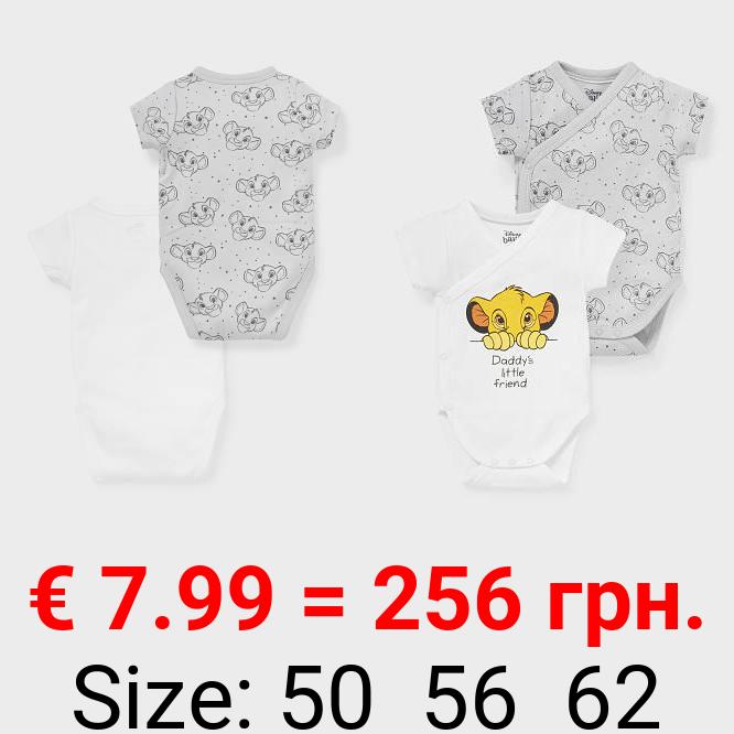 Multipack 2er - Der König der Löwen - Baby-Body - Bio-Baumwolle