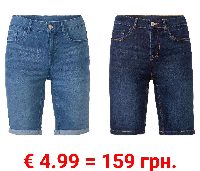 ESMARA® Damen Jeans Bermuda