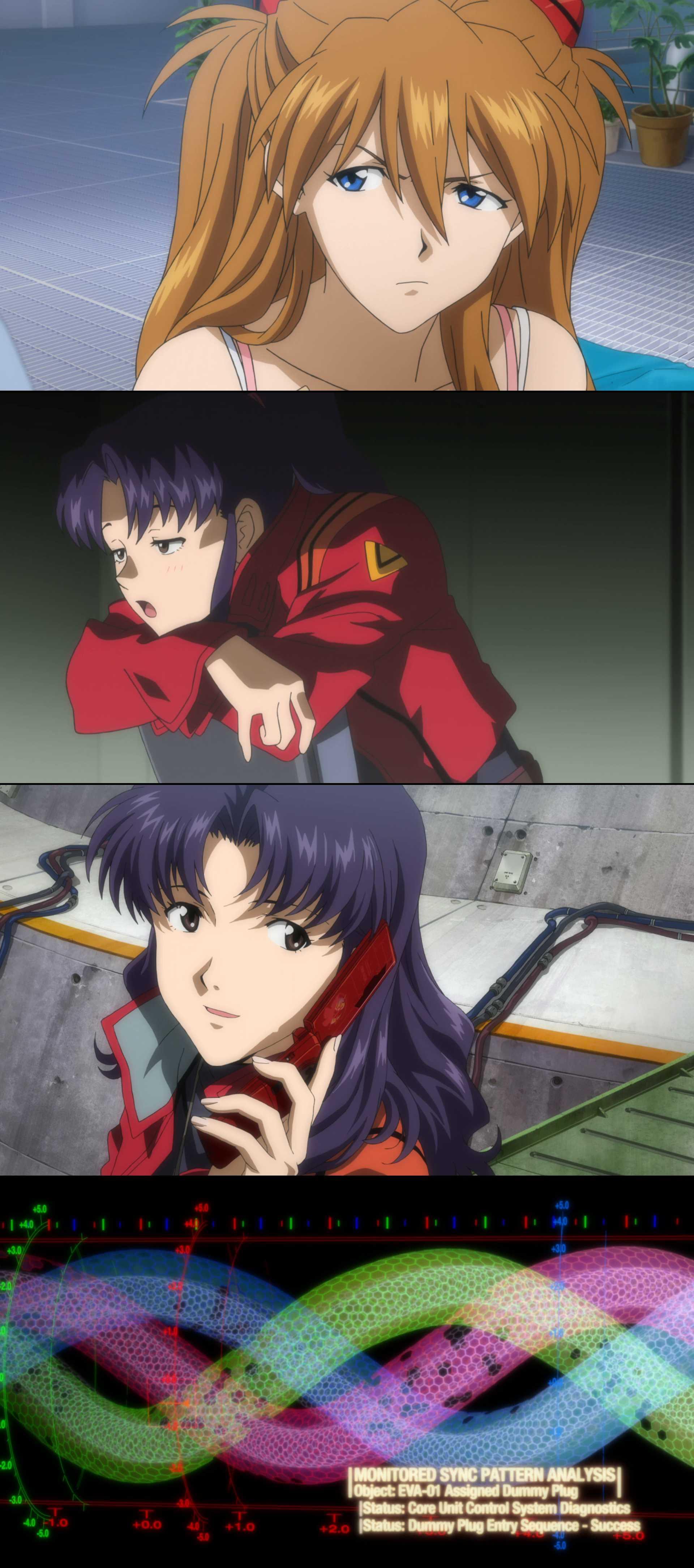 Screenshot of Evangerion shin gekijôban: Ha Movie
