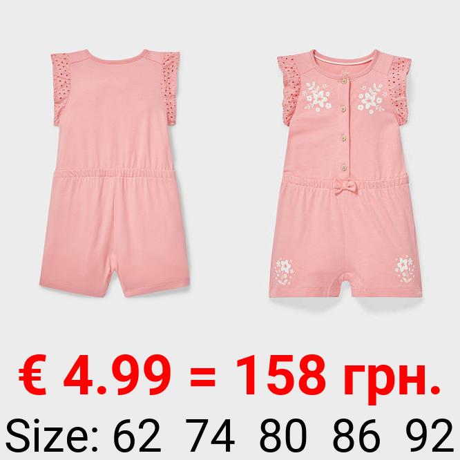 Baby-Jumpsuit - Bio-Baumwolle