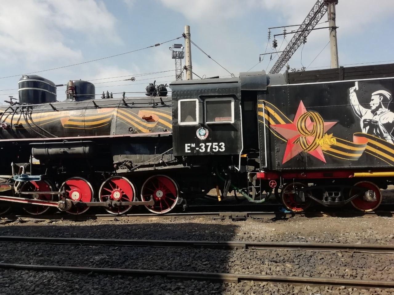 По Хабаровску проедет ретро-поезд «Победа»