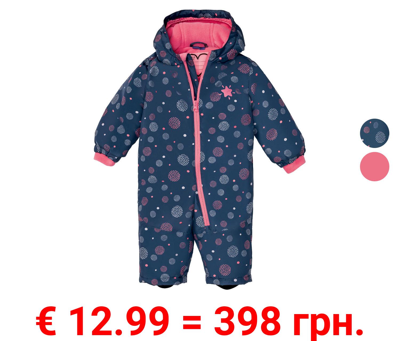 LUPILU® Baby / Kleinkinder Schneeoverall Mädchen, warm gefüttert