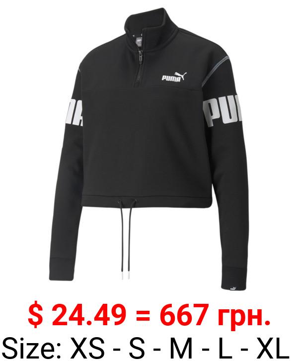 Power Half-Zip Women's Sweatshirt