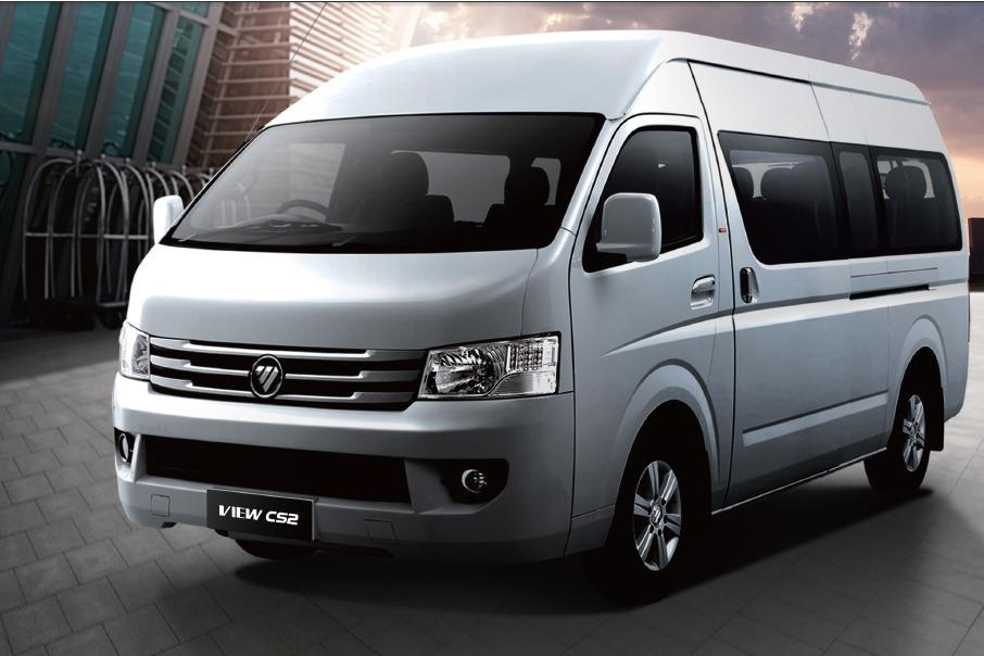 все про китайский микроавтобус фотон планирует