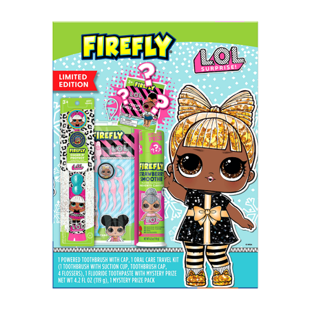 Firefly Lol Oral Care Gift Set