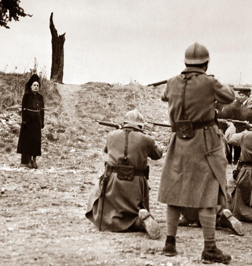 Мата Харри: последняя фотосессия во время расстрела