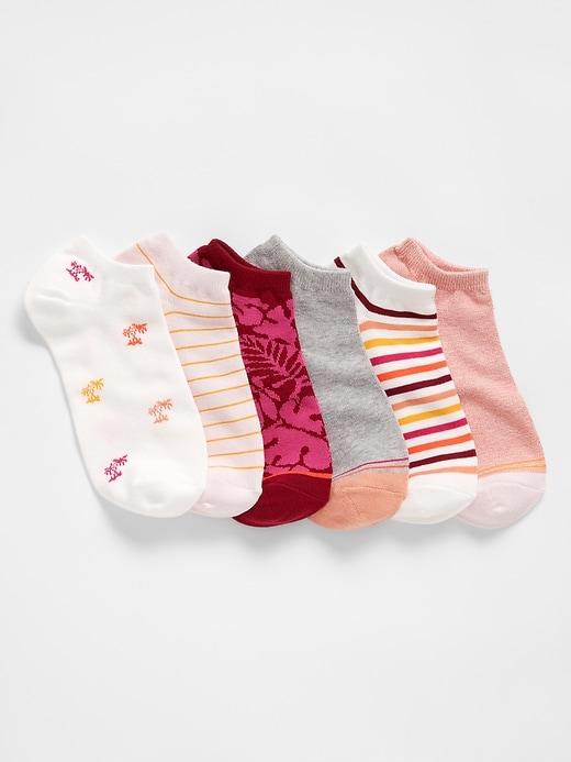 Print Ankle Socks (6-Pack)