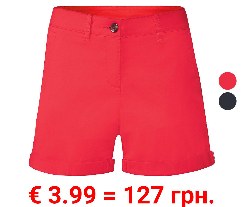 ESMARA® Shorts Damen, mit Baumwolle