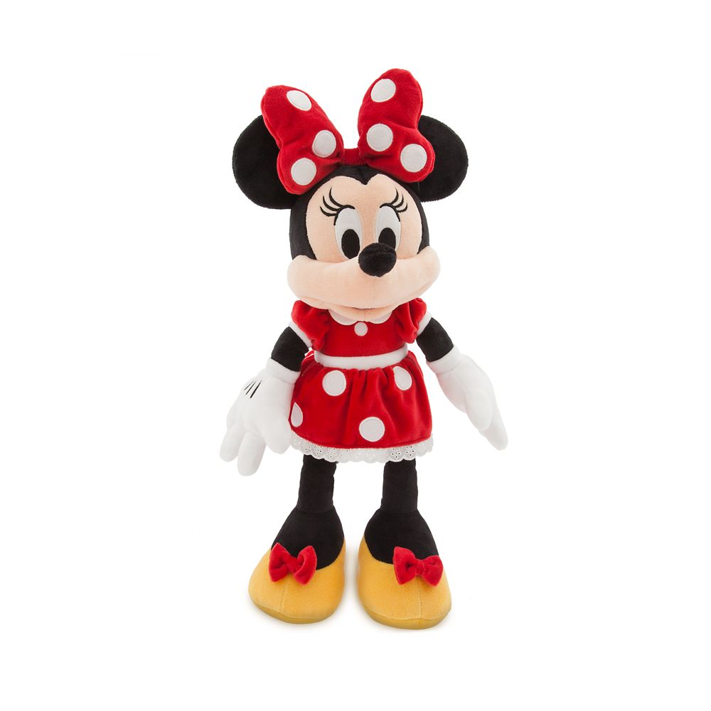 Minnie Mouse Plush - Red - Medium - 18'' - Personalizable