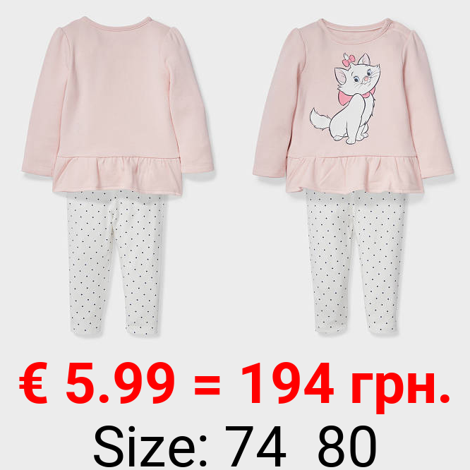 Aristocats - Baby-Outfit - Bio-Baumwolle - 2 teilig