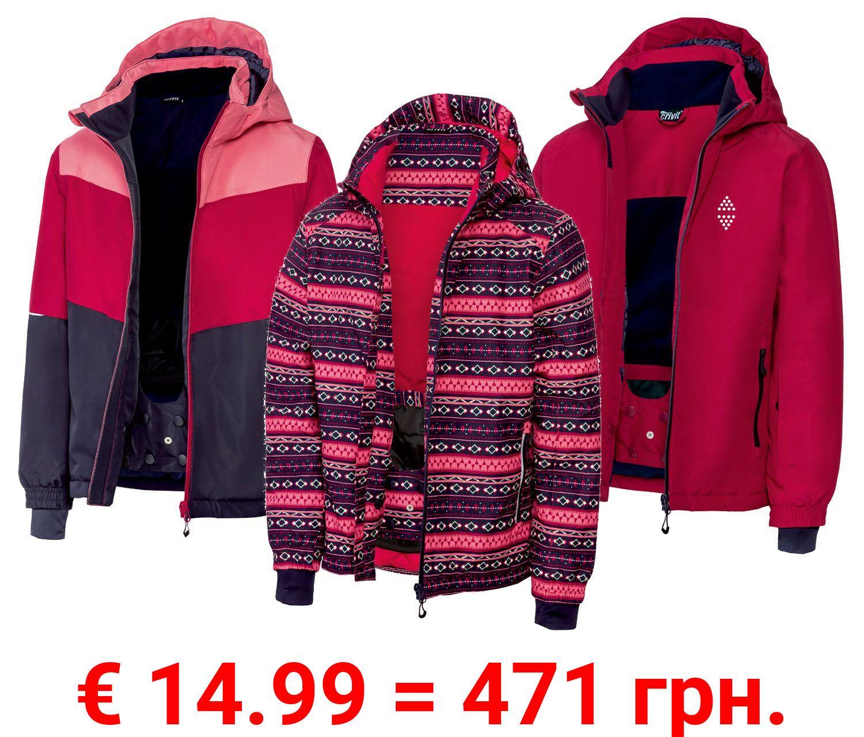 CRIVIT® Kinder Mädchen Skijacke