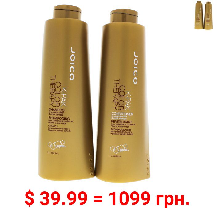 Joico K-Pak Color Therapy Shampoo And Conditioner 33.8 Ounce