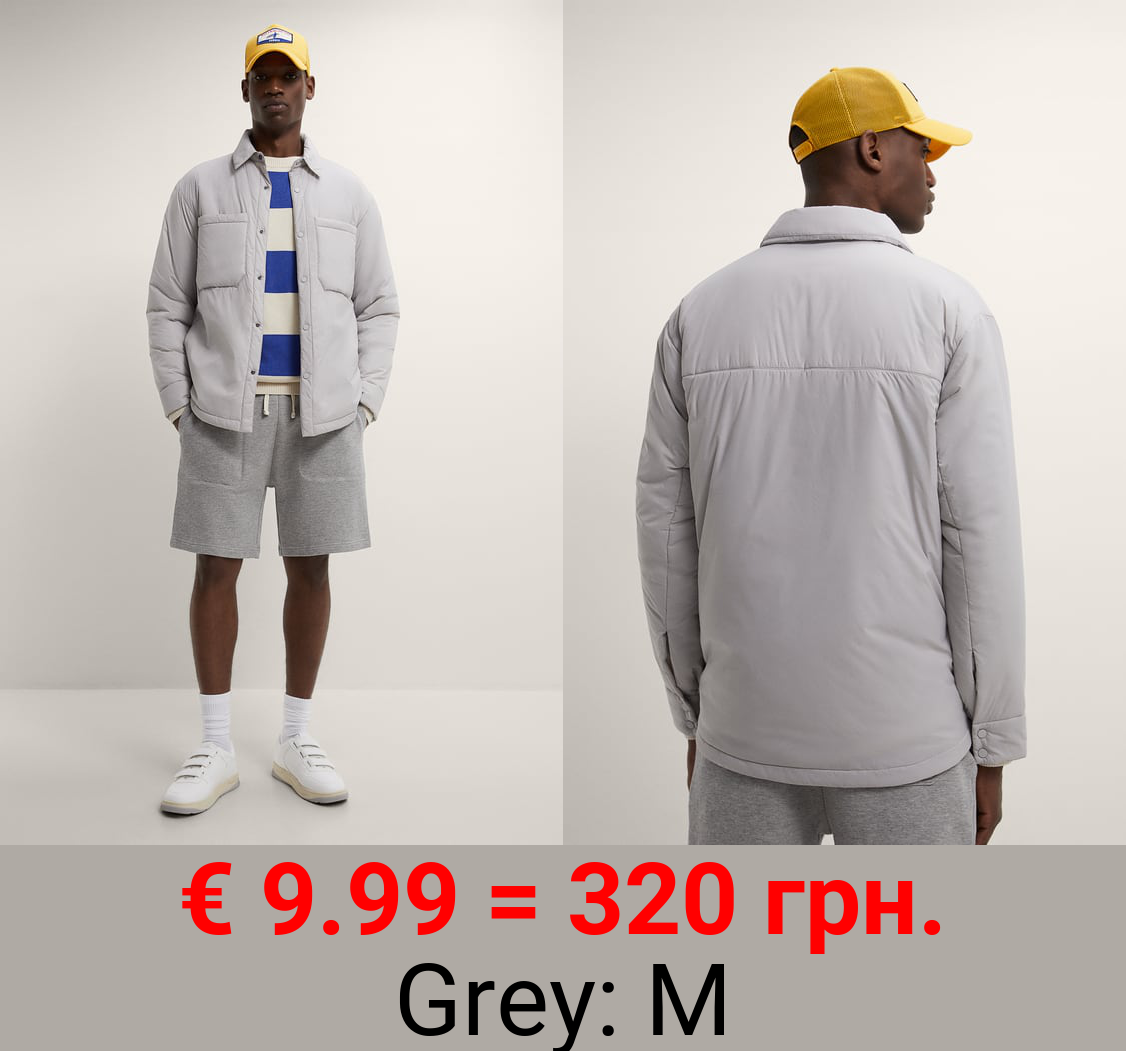 WATER-REPELLENT PADDED OVERSHIRT