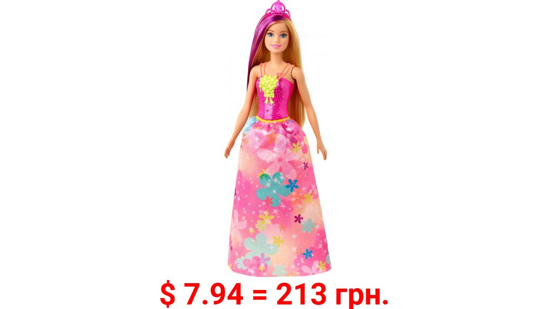 Barbie Dreamtopia Princess Doll, 12-Inch, Blonde With Purple Hairstreak