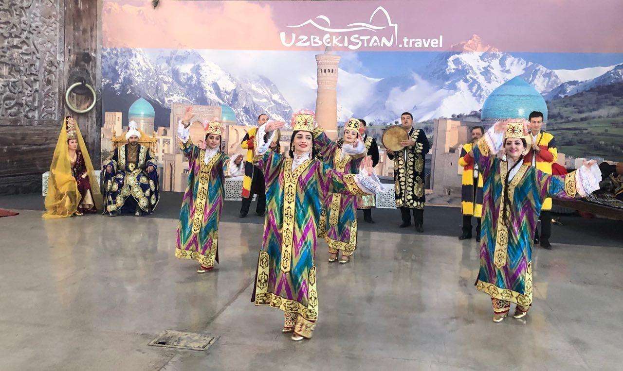 Мастер-класс по национальным танцам в ярмарке