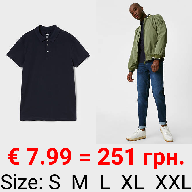 Poloshirt - Flex - Bio-Baumwolle