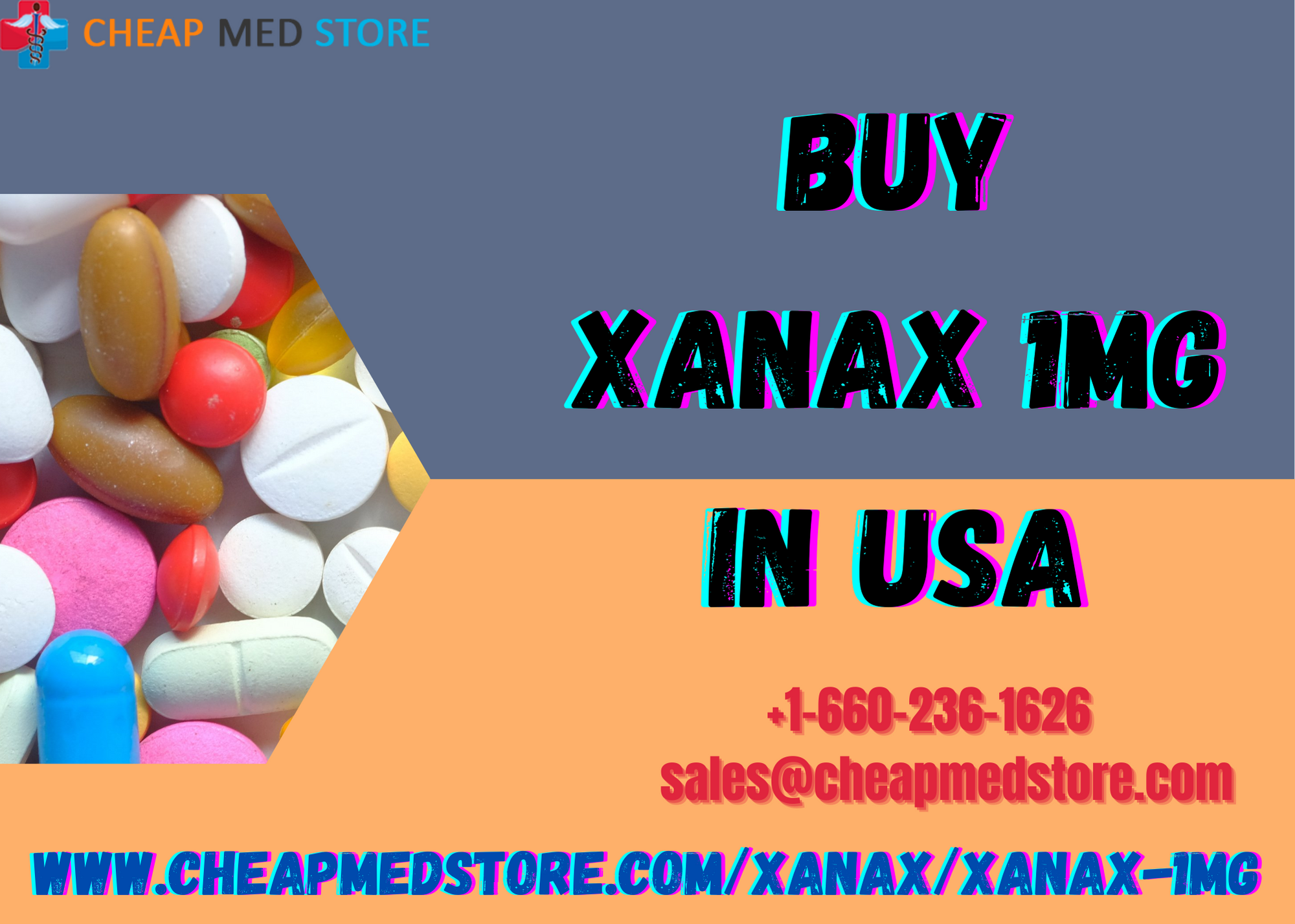 Order Xanax 1mg: Gives Quick Relief Of The Symptoms Of Anxiety