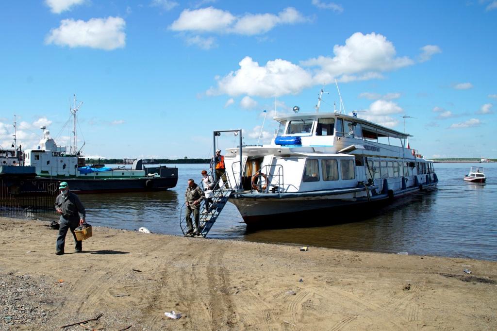 Речные пассажирские перевозки возобновляются в Хабаровске