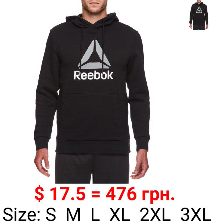 Reebok Men's and Big Men's Delta Fleece Hoodie, up to 3XL