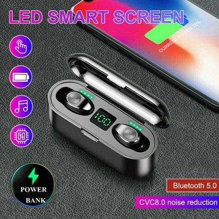Bluetooth 5.0 Headset TWS Wireless Earphones Mini Earbuds Stereo Headphones F9