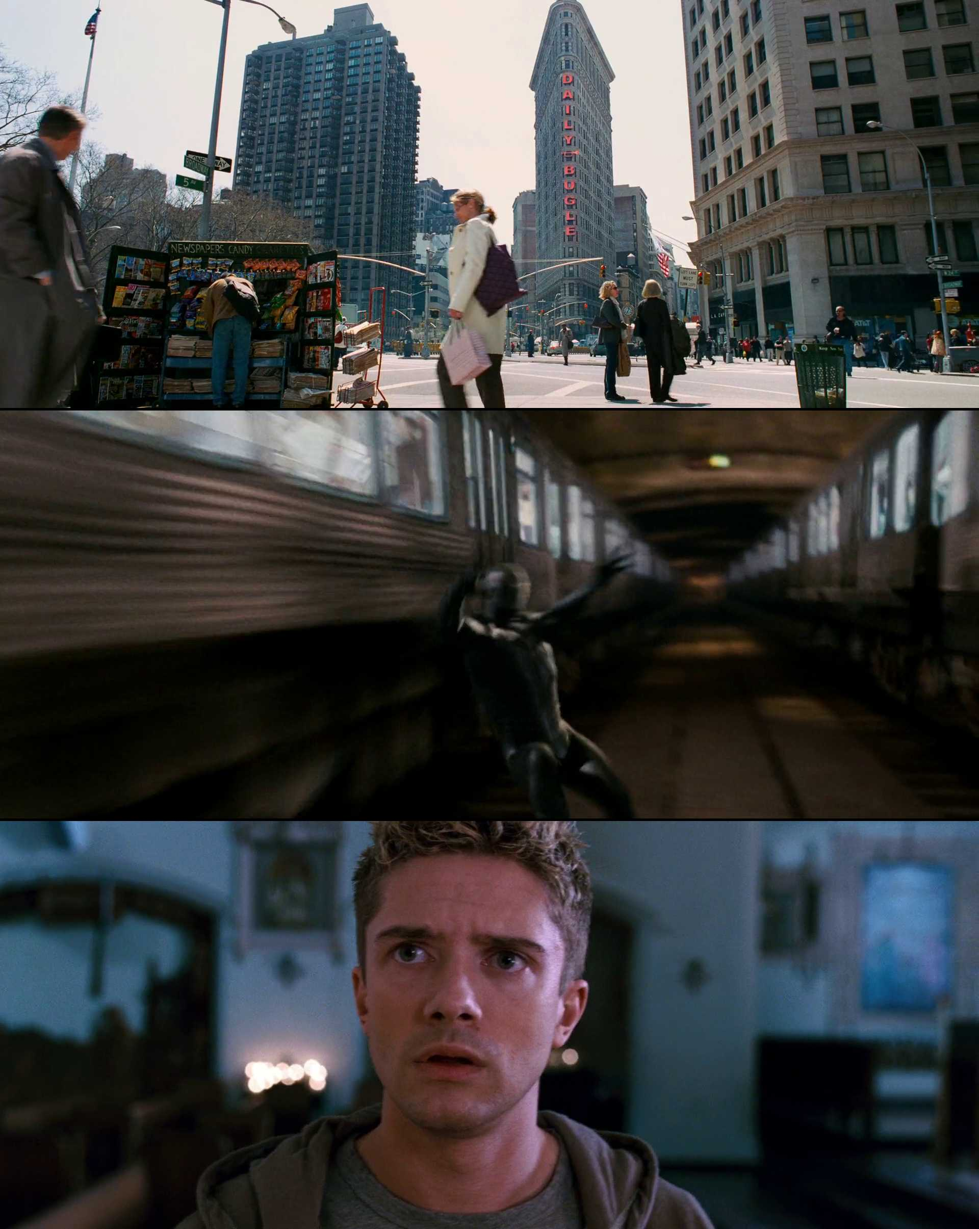 Screenshot of Spider-Man 3 Movie