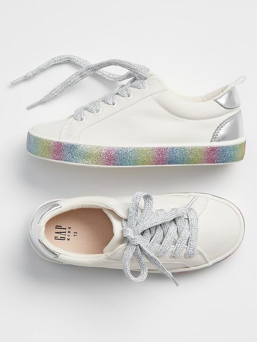 Kids Rainbow Sneakers