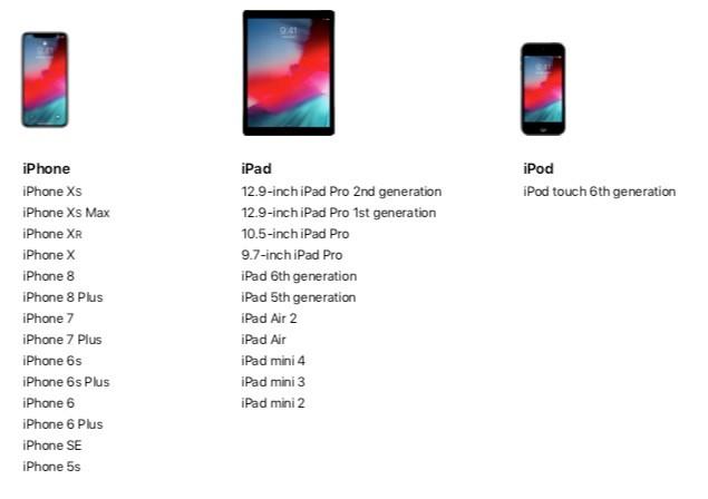 Le principali novità di iOS 12