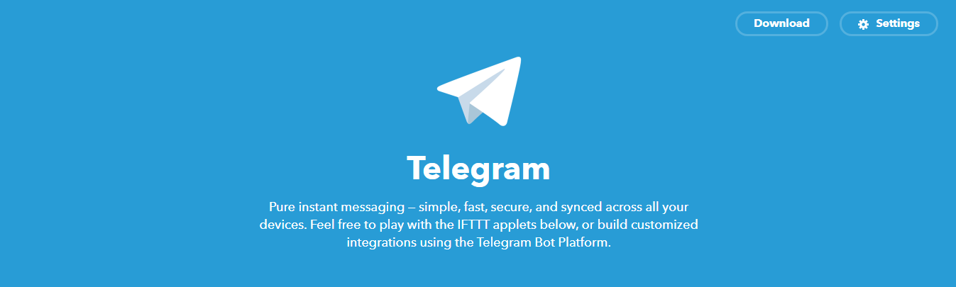 telegram ifttt