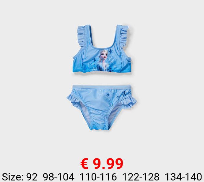 Die Eiskönigin - Bikini - 2 teilig - glänzend
