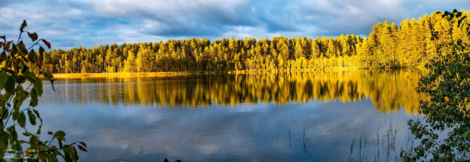 NEW: От Дубковских до Морозовских озер по Гряде Вярямянселькя, 19 км, 9.10.2019 суббота